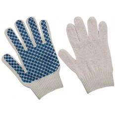 """Перчатки вязаные, """"Черепаха"""", класс вязки 7,5, Х/Б с ПВХ напылением арт. 040780"""