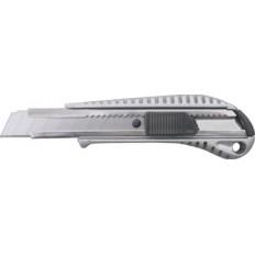 Нож технический 18 мм усиленный, металлич.корпус арт. 10250