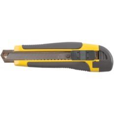 Нож технический 18 мм усиленный, лезвие 15 сегментов арт. 10254