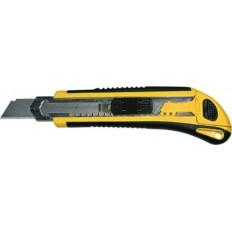 Нож технический 18 мм усиленный,  3 лезвия, Профи арт. 10263