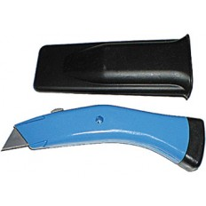 """Нож для напольных покрытий усиленный """"Дельфин"""" Профи, серый (в чехле) арт. 10360"""