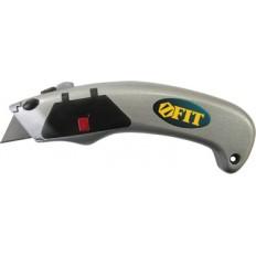 """Нож для линолеума усиленный """"Дельфин"""" с автомат.сменой лезвий, Профи арт. 10367"""
