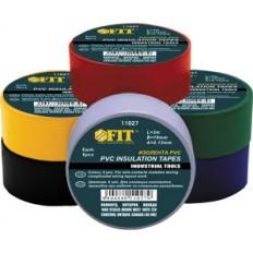 Изолента PVC 19 мм х 0,13 мм х 3 м (6 шт., цветная) арт. 11027