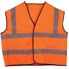 Жилет сигнальный оранжевый, размер XL арт. 12130