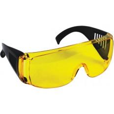 Очки защитные желтые с дужками.. арт. 12220