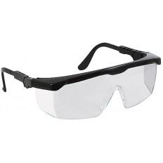 Очки защитные с регулируемыми дужками, прозрачные арт. 12221