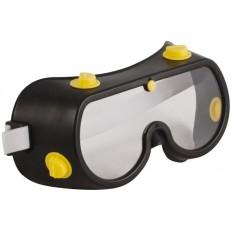 Очки защитные с непрямой вентиляцией, черный корпус арт. 12225