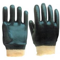 Перчатки рабочие  c полным двойным нитриловым обливом арт. 12423