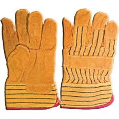 Перчатки рабочие кожаные (свиная кожа), 10,5 (желтые) арт. 12440