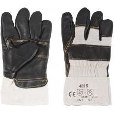 Перчатки рабочие кожаные, с мехом внутри, 10.5, цвета в ассортименте арт. 12445