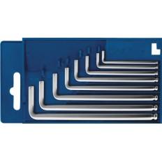 """Ключи """"Hex"""", с шаровым наконечником, набор 8шт в пластиковой коробке (1,5 - 8мм. ) арт. 137203"""