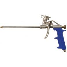 Пистолет для монтажной пены, облегченный алюминиевый корпус арт. 14264