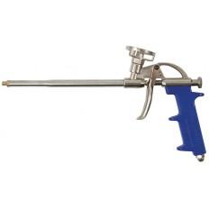 Пистолет для монтажной пены, алюминиевый корпус арт. 14265