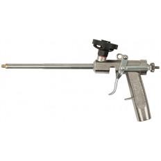 Пистолет для монтажной пены, Профи, цельнометаллический, клапан с тефлоновым покрытием арт. 14280