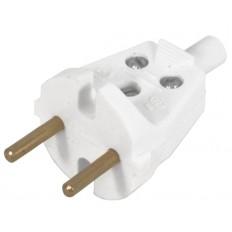 Вилка электрическая универсальная В6-001 Без заземления.10 А арт. 203508