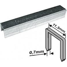 Скобы закаленные Профи, узкие прямоугольные, (тип 53), ширина 11,3 мм, 10 мм 1000 шт. арт. 31310