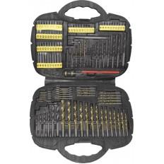 Сверла и биты CrV, набор 123 шт., в чемоданчике арт. 36365
