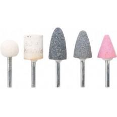 Шарошки  по камню, абразивные, набор 5 шт. арт. 36462