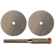 Диски отрезные HSS 2 шт. и штифт, д.3 мм арт. 36933