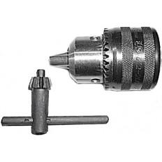 """Патрон для дрели, ключевой 1/2"""" - 10 мм (с ключом Т-образным) арт. 37840"""