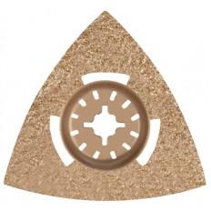 Насадка шлифовальная карбидная треугольная 80 мм арт. 37935