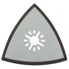 Подошва для МФИ для шлифовальных листов треугольная 80 мм арт. 37951