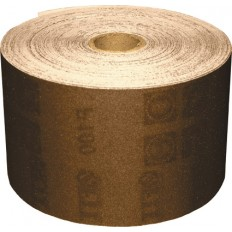 Бумага нажд.в рулонах, на тканевой основе, ал.-окс. Профи, 115 мм х 50 м (Р 100) арт. 38075