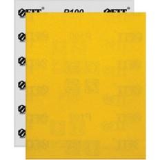 Бумага нажд., на бум.финской основе, алюм.-окс. Профи, 230 х 280 мм (Р 100), 10 шт арт. 38155