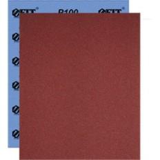 Бумага нажд. водост., на ткан., основе, алюм.-окс. Профи, 230 х 280 мм (Р 100), 10 шт арт. 38195