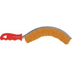 Корщетка с изогнутой пластиковой ручкой вогнутая, тип С арт. 38420