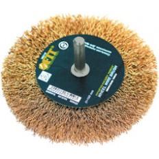 Корщетка-колесо 100 мм арт. 38510