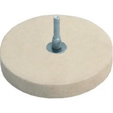 Круг полировочный фетровый 115 мм арт. 38703