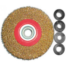 Корщетка-колесо 125 мм арт. 39012
