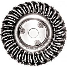 Корщетка-колесо 125 мм витая арт. 39103