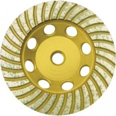 Диск алмазный шлифовальный,  турбо 125 мм. арт. 39521