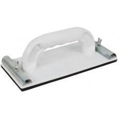 Терка для нажд.бумаги пластик. с мет.прижимом 230 х 105 мм арт. 39743