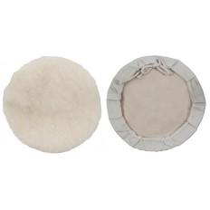 Чехол полировочный, искусственная шерсть, на тканевой основе, на завязках, 125 мм арт. 39866