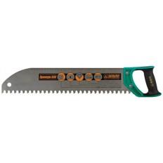 """Ножовка по пенобетону """"Дельта Премиум"""", 550 мм, усиленный зуб 16мм, двухцветная ручка (РОС) арт. 40762"""