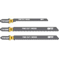 Набор полотен д/электролобзика, 6 шт (T101BRFx2; T101AOF x2; T101AIF x2) арт. 41012