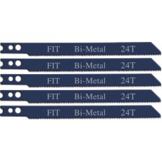 Полотна для электролобзика/металлу, амер.хвост., Bi-metal, 24Т, 5 шт. арт. 41130