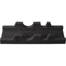 Стусло пластмас.без пилы черное 300 мм х 65 мм арт. 41248