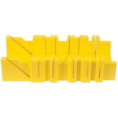 Стусло пластмассовое без пилы желтое 300 мм х 110 мм х 80 мм арт. 41253