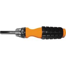 Отвертка с 6 битами CrV, оранжевая ручка арт. 56240