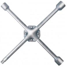 """Ключ баллонный крест усиленный 17-19-21 мм + 1/2"""" длина 400мм арт. 62760"""