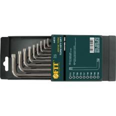 Ключи звездочки 9 шт. Т10-Т50 CrV (в коробочке) Профи арт. 64022