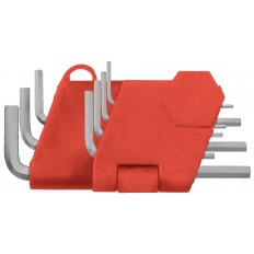Ключи шестигранные CrV 7шт. (0.7-3.0 мм), в пластиковом держателе арт. 64160