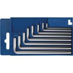 """Ключи """"Hex"""", набор 8шт в пластиковой коробке (1,5 - 8мм. ) арт. 64179"""