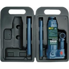 Домкрат гидравлический бутылочный в чемоданчике 2 т. арт. 64562