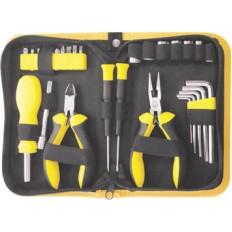 Набор инструмента 29 шт. ( отвертки, биты, ключи HEX, пассатижи ) арт. 65137