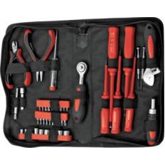 Набор инструмента 45 шт. ( отвертки, биты, ключ разводной, пасс.-мини ) арт. 65140
